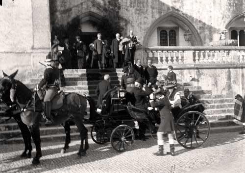 Visita dos duques de Connaught a Sintra Visitas Reais a Sintra