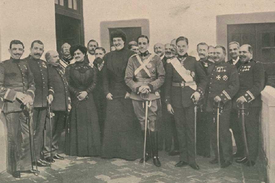 visita a portugal de afonso XIII Visitas Reais a Sintra