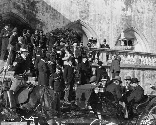 visita ao palacio da vila Visitas Reais a Sintra