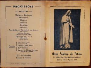 Visita de Nossa Senhora de Fátima à Vigararia de Sintra