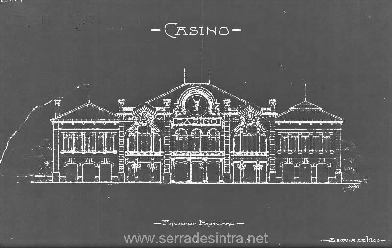 Projacto do Casino de Sintra 1 casino de sintra