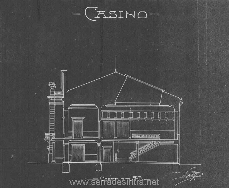 Projacto do Casino de Sintra 2 casino de sintra